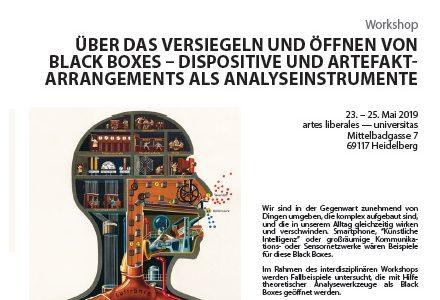 """Workshop """"Über das Versiegeln und Öffnen von Black Boxes"""" in Heidelberg beginnt in wenigen Tagen"""